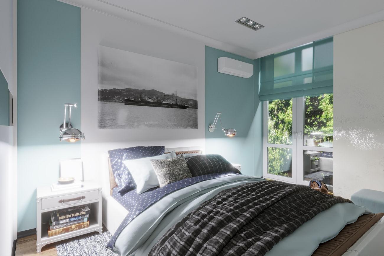 Дизайн спальной в ЖК Комфорт Таун