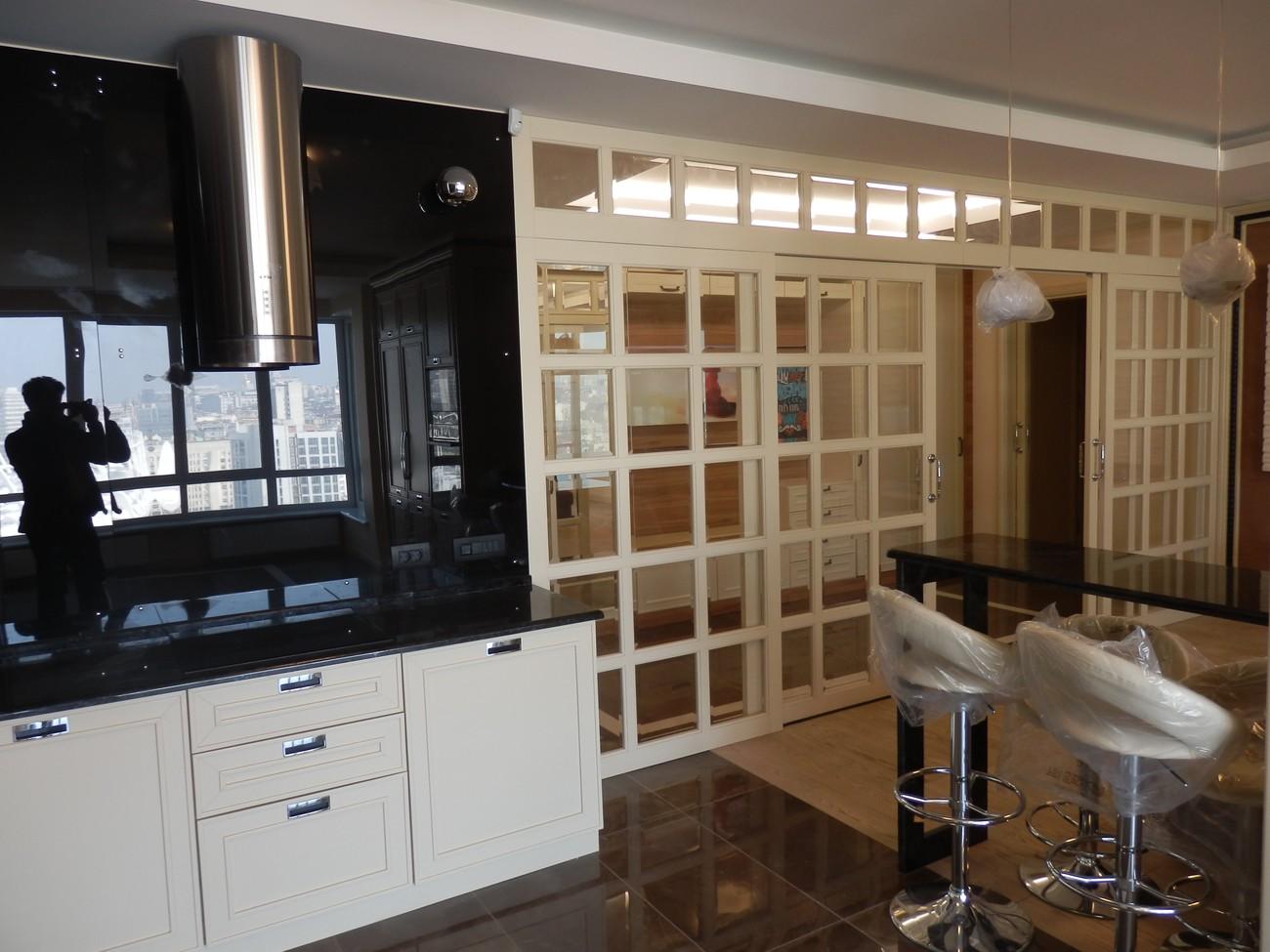 симпатичная кухня в ЖК chelsea tower