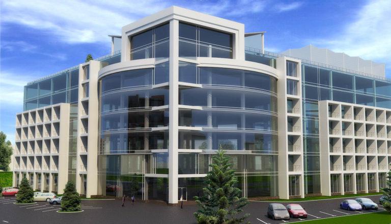 дизайн фасада многоэтажного дома
