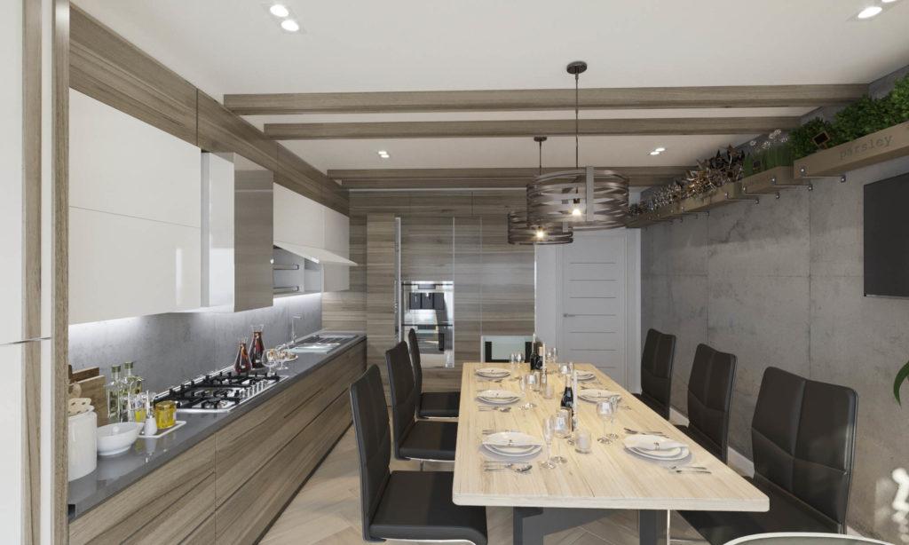 красивая и современная кухня