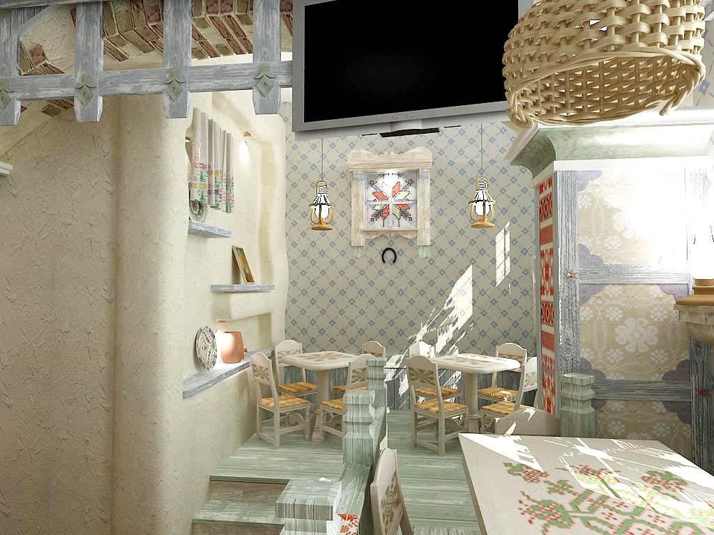 Дизайн ресторана, дизайн кафе в этническом стиле