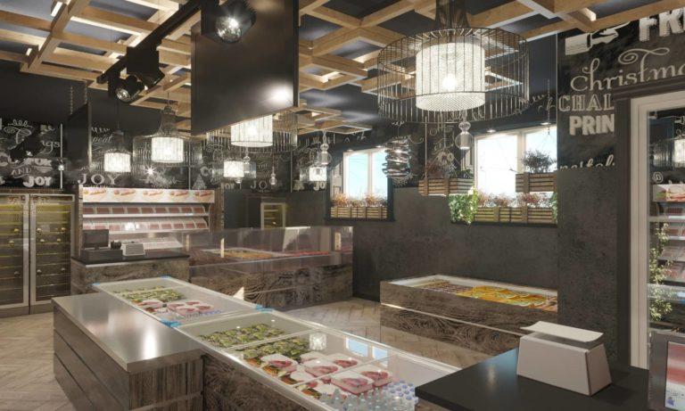 Дизайн магазина мяса