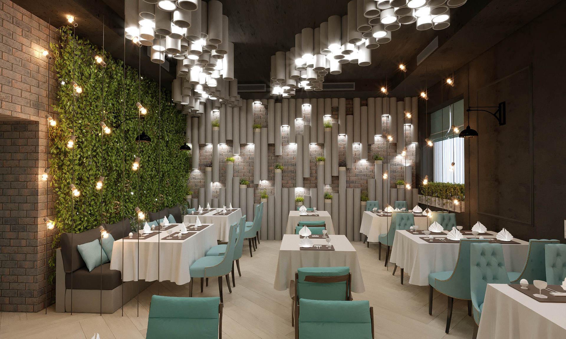 дизайн ресторана будущего