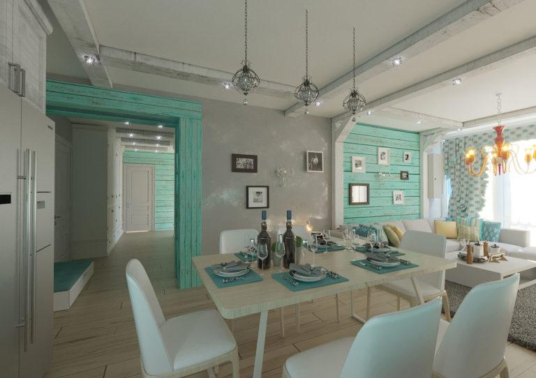 дизайн интерьера Кухня в стиле прованс