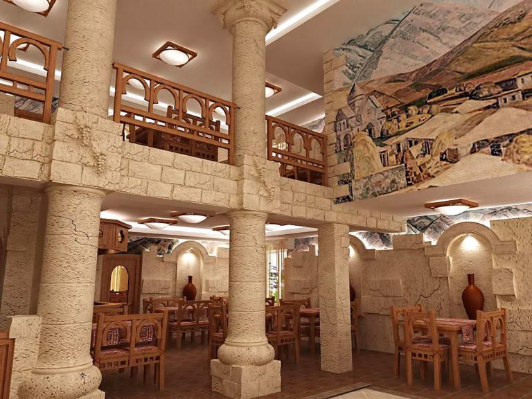 Дизайн ресторана Армения