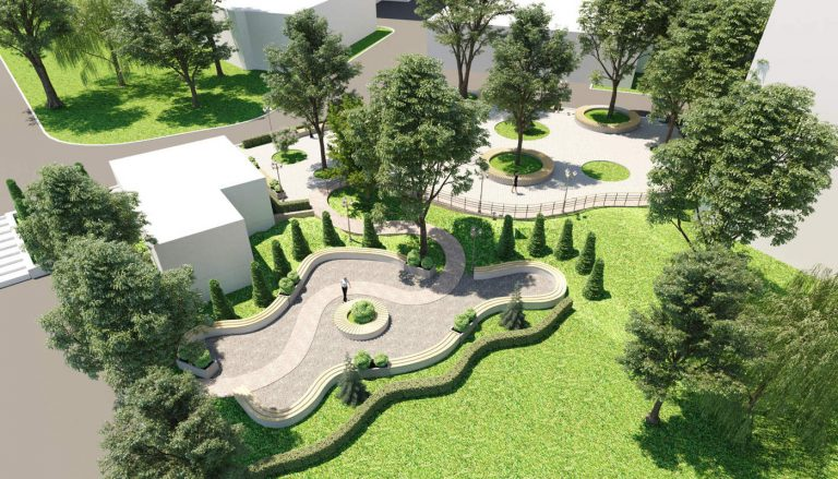 ландшафтный дизайн проект парка