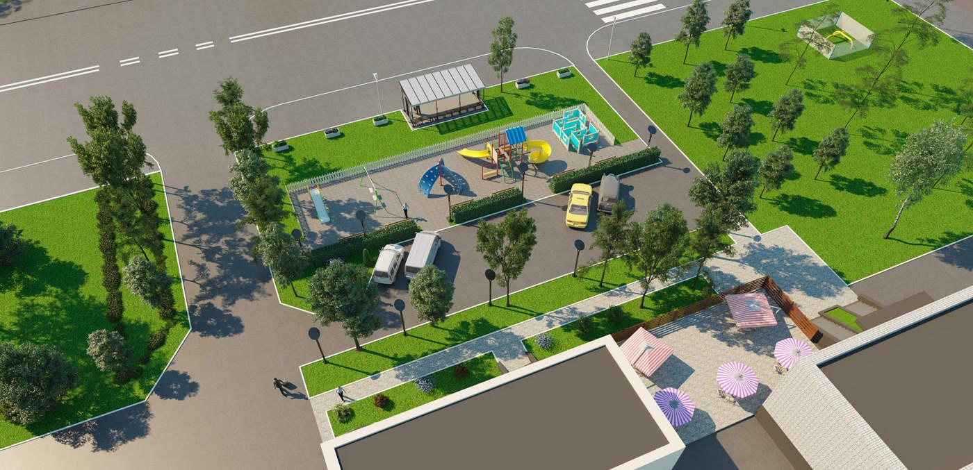 эскизной проект парковой зоны