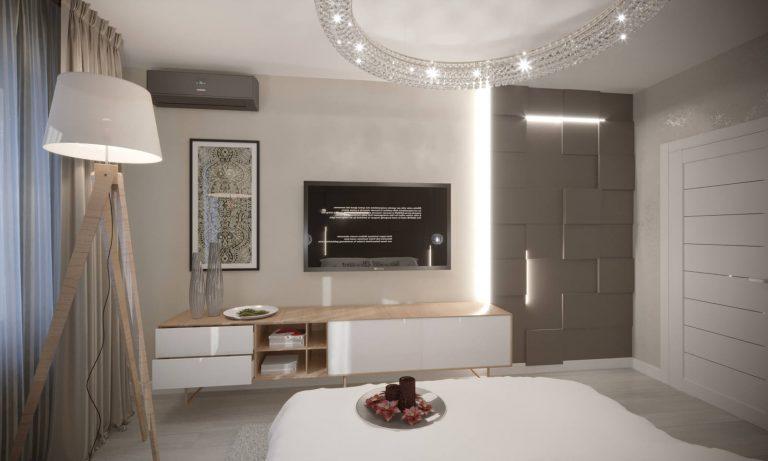 дизайн кухни с 3д панелями 8