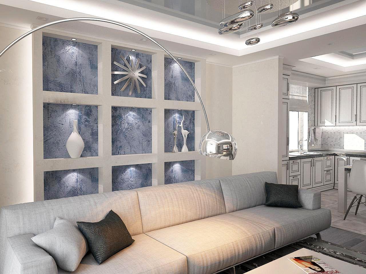 Дизайн гостиной 4