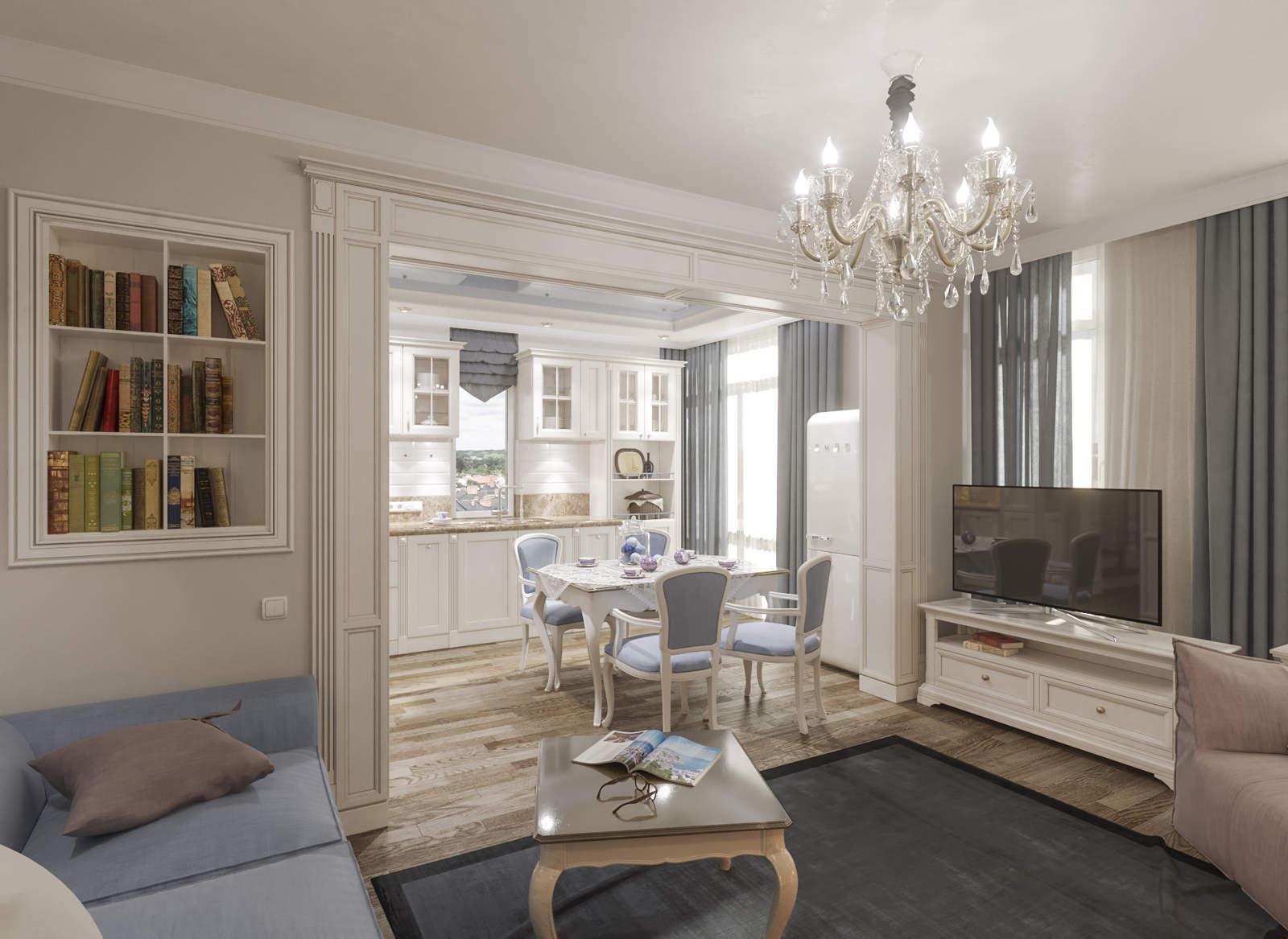 Дизайн нтерьера гостинной Киев кухня в классическом стиле