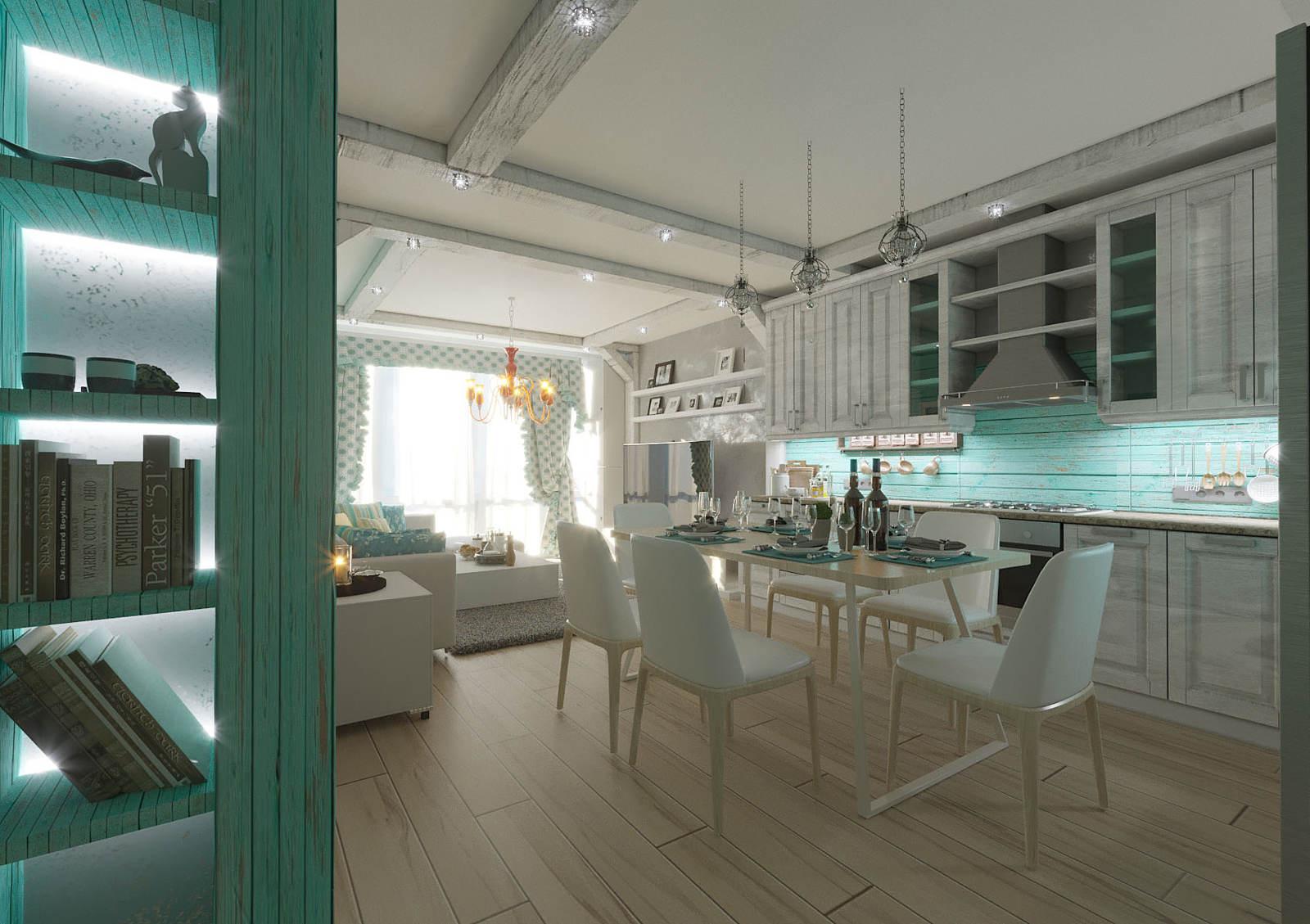 Дизайн кухни в квартире Киев 29