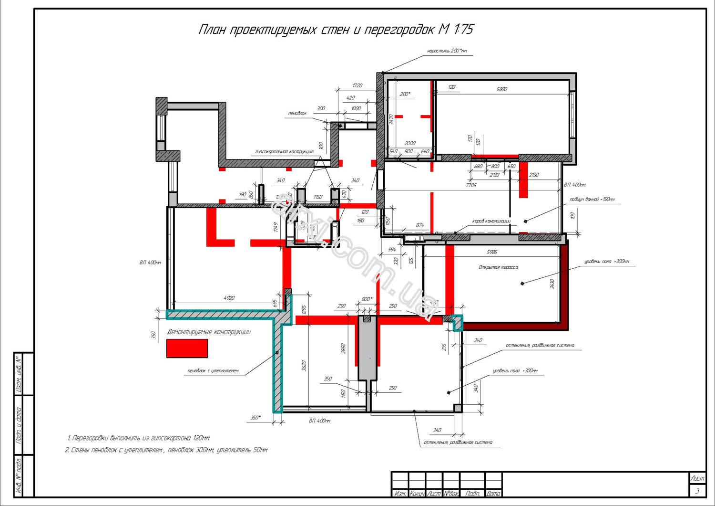Дизайн проект интерьера квартиры пример фото киев план монтажа стен