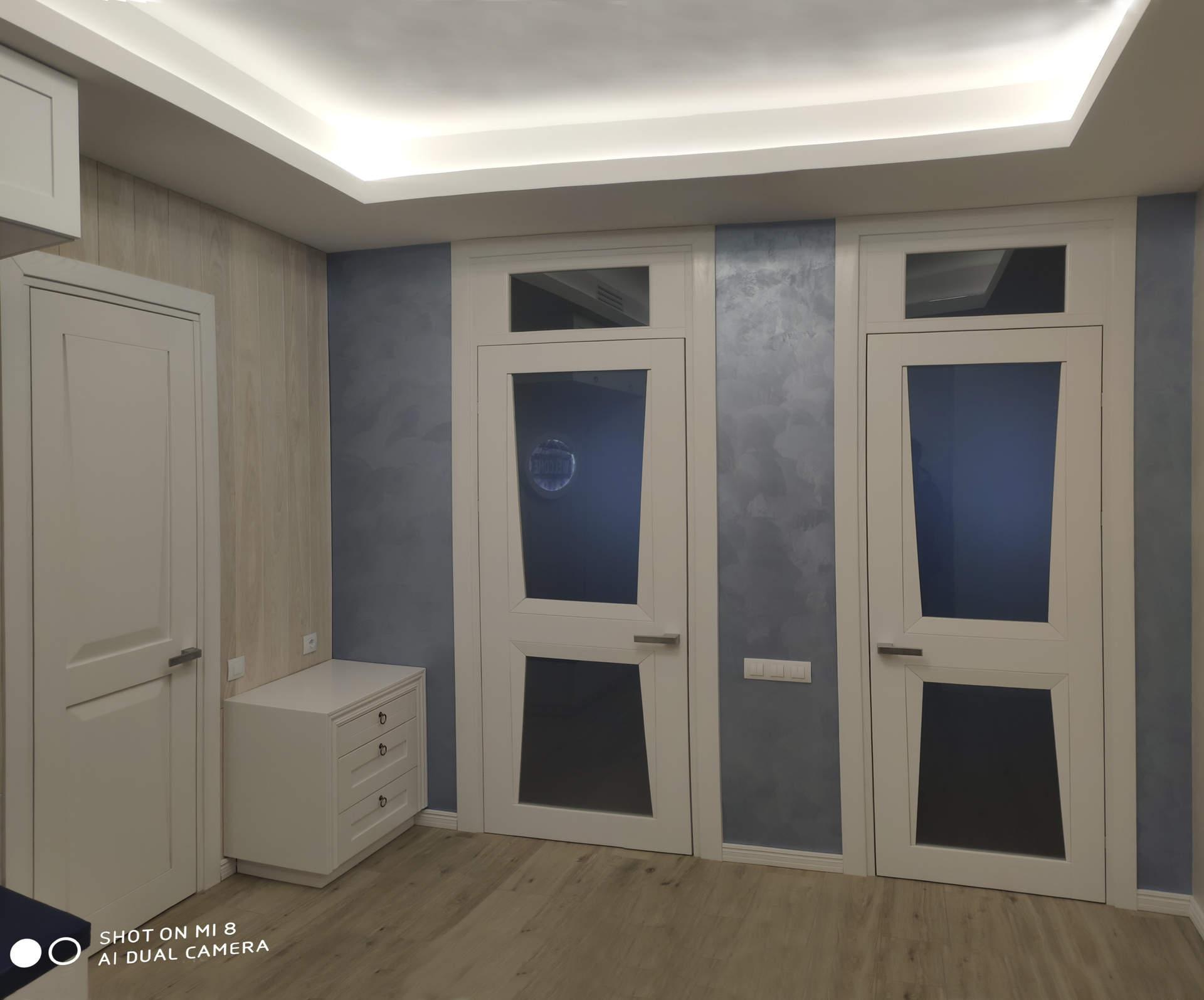 Ремонт в ЖК Альтер-Эго дизайн интерьера до после фото 3