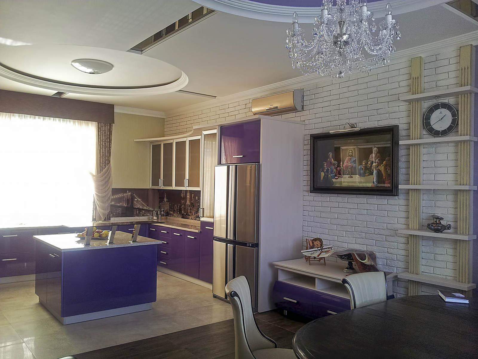 Дизайн кухни гостиной в современном стиле в киеве ремонт до после ремонта классический стиль модерн