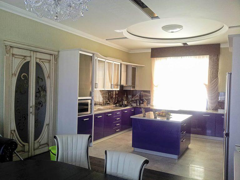 Ремонт кухни по дизайн проекту киев, классика, потолки дизайн лепка
