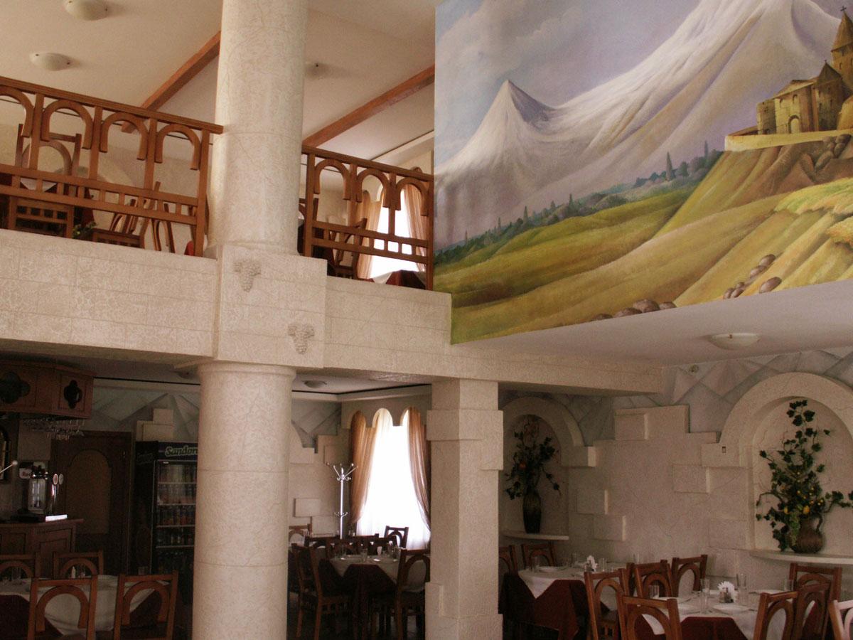 Дизайн интерьера Ресторан Армения