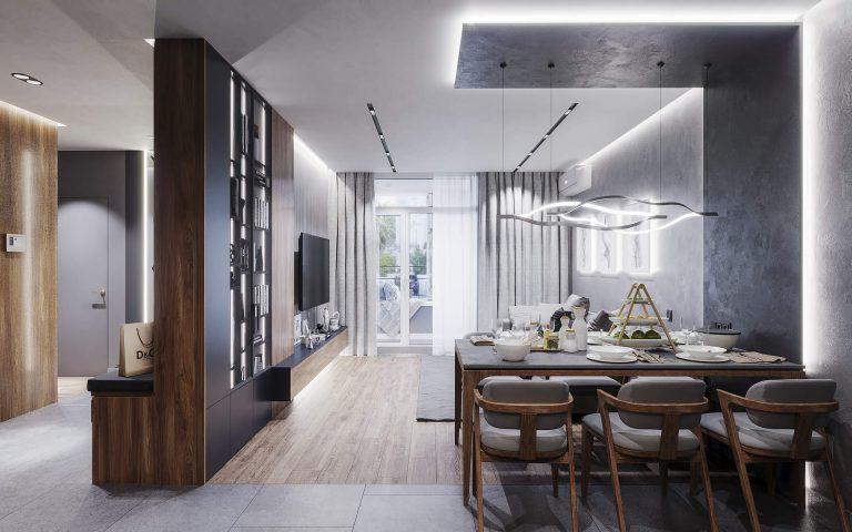 Гостиная в современном стиле комфорт таун