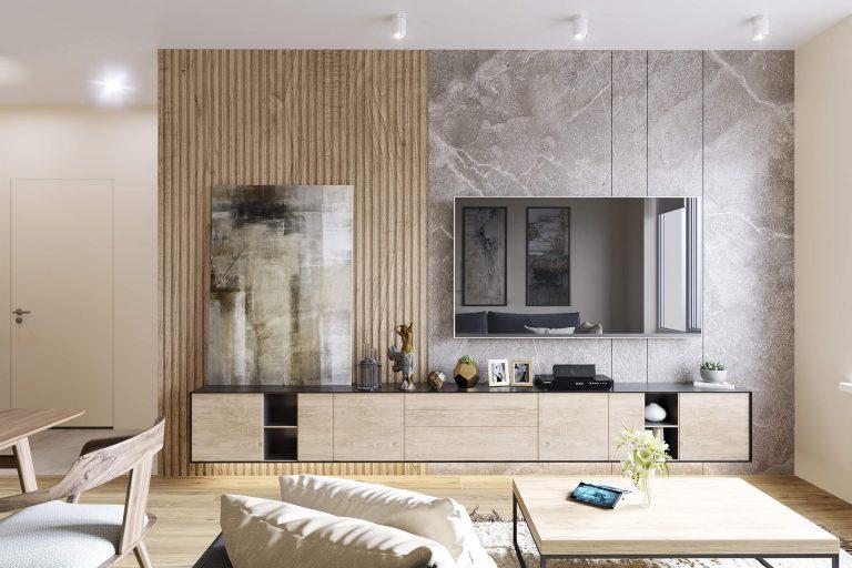 дизайн квартиры в современном стиле в ЖК Севен